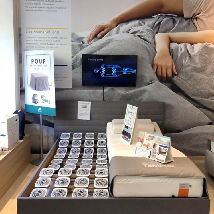 Tempur Specialist Store Torino - Rete letto